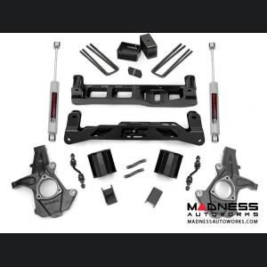 "Chevy Silverado 1550 2WD Suspension Lift Kit w/ N3 Shocks - 5"" Lift - Aluminum Knuckles"